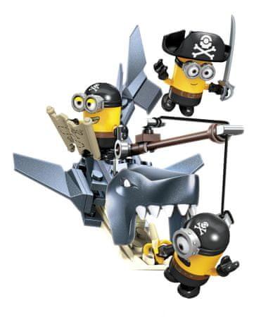 MEGA BLOKS Mimoňovia - piráti
