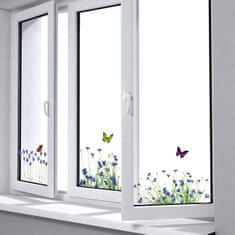 Crearreda okenska elektrostatična obojestranska nalepka, Pomlad