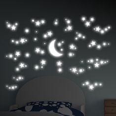 Crearreda dekorativna nalepka, Zvezdna noč