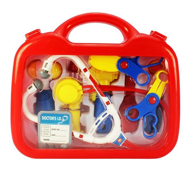 Eddy Toys Lékařský kufřík, 9 součástíi