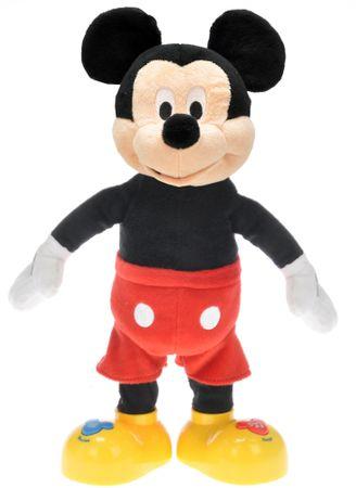 Mikro hračky Mickey Mouse 33cm mluvící a zpívající