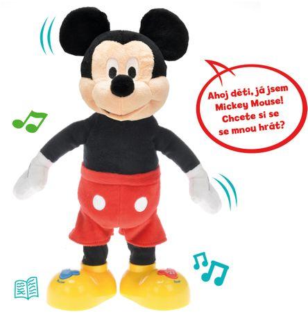 Mikro Hracky Mickey Mouse 33cm Mluvici A Zpivajici Mall Cz