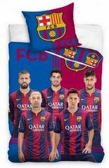 Barcelona FC posteljnina, nogometaši, 140 x 200 cm