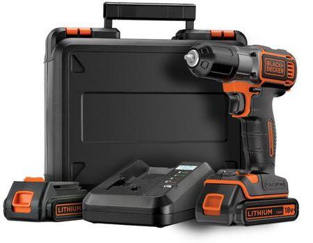Black+Decker akumulatorski vrtalni vijačnik ASD18KB Autosense