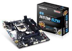 Gigabyte matična plošča GA-H81M-S2H, DDR3, SATA3, HDMI, USB3, LGA1150 mATX