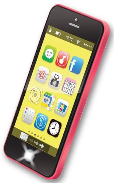 MaDe Smartphone 40 melodií, červená