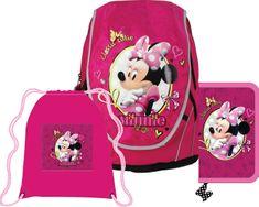 Sun Ce ABB Disney Minnie Iskolatáska szett  + KOH-I-NOOR 12 db-os színesceruza készlet