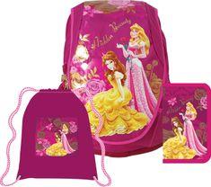 Sun Ce Anatomický školní batoh ABB set Disney Princezny