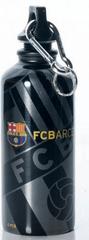 Barcelona FC plastenka, črno-srebrna, 400 ml
