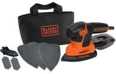 Black+Decker vibracijski brusilnik Mouse KA2000