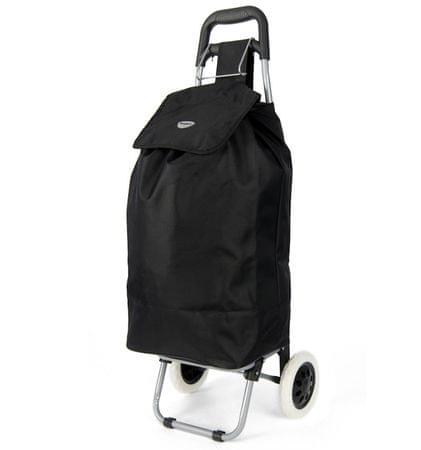 7eeaf4eb9c6 REAbags Nákupní taška na kolečkách HOPPA ST-40 - černá
