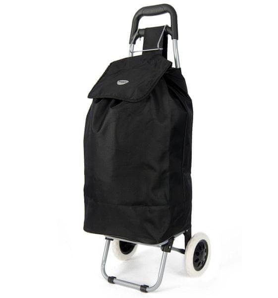 REAbags Nákupní taška na kolečkách HOPPA ST-40 - černá