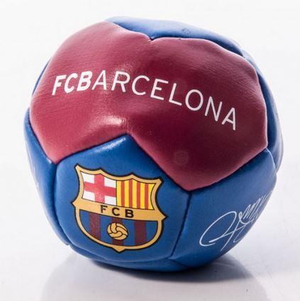 Barcelona FC žogica kick n trick, s podpisi
