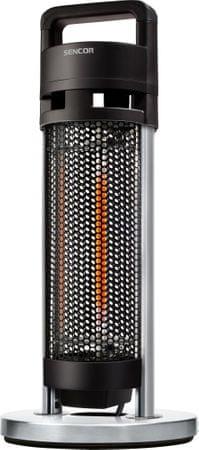 SENCOR SHH 760BK Hordozható elektromos teraszfűtő