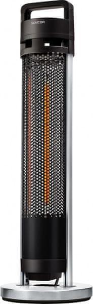 Sencor SHH 1090BK terasové topidlo