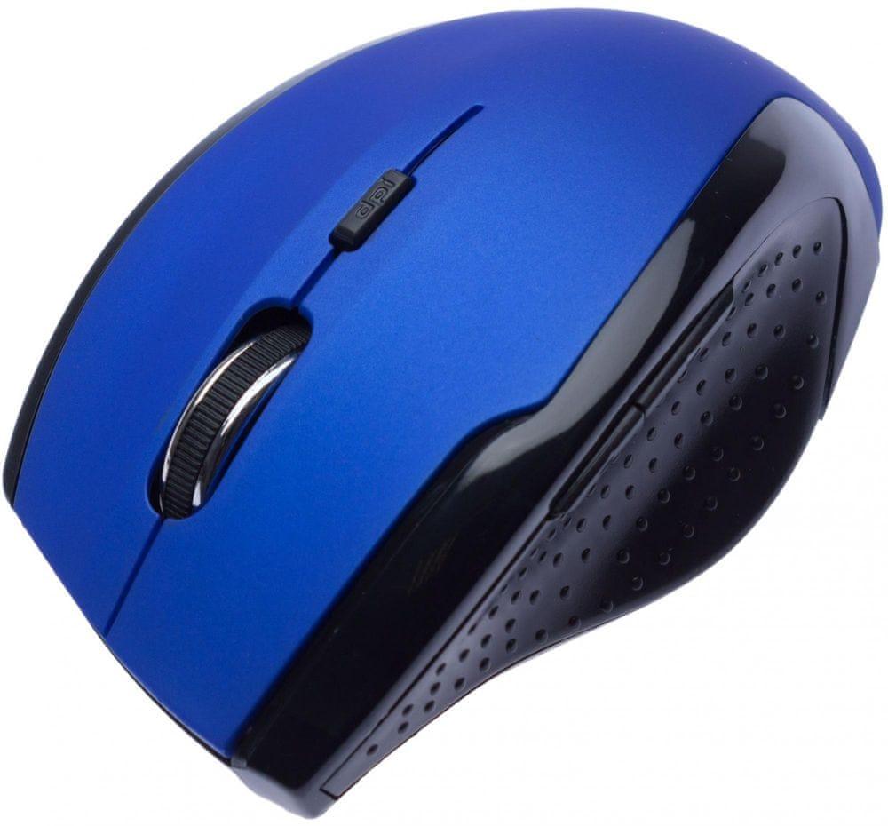 Connect IT CI-155 bezdrátová optická myš, modrá