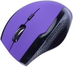 Connect IT CI-156 bezdrátová optická myš, fialová