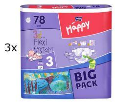 Bella Happy Midi Big Pack - 234 ks