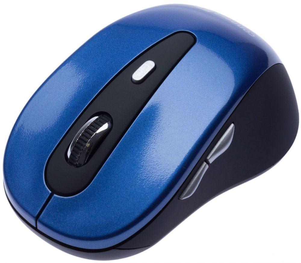 Connect IT CI-164 bezdrátová optická myš, modrá