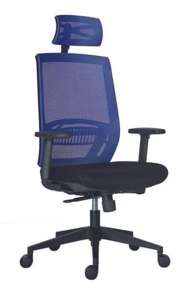 Kancelářská židle Above modro-černá