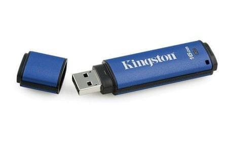 Kingston USB ključ DT Vault Privacy 16 GB 3.0 (DTVP30/16GB)