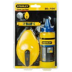 Stanley označevalna vrvica s kredo, 30m (0-47-443)