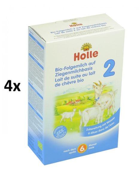 Holle Bio dětská mléčná výživa na bázi kozího mléka 2 - 4 x 400g