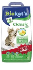 Gimpet Biokats Classic fresh 20 l + 2l Zadarmo