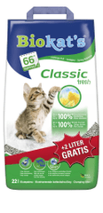 Gimpet Biokats Classic fresh macskaalom, 20 + 2 l