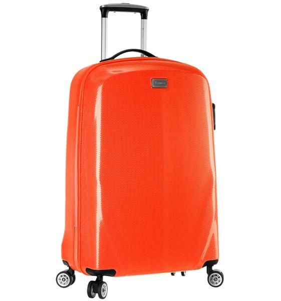 Sirocco Cestovní kufr T-924/3-50 PC oranžová