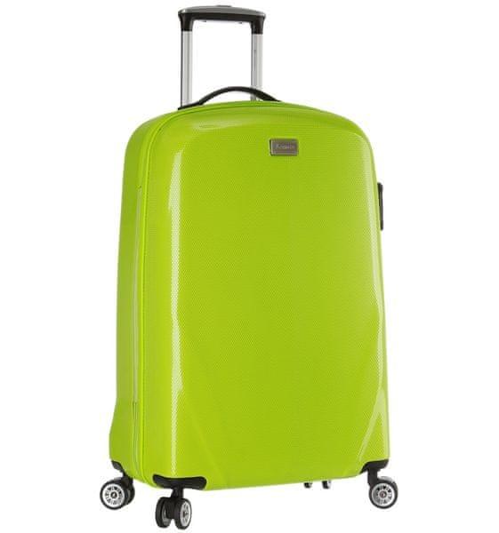 Sirocco Cestovní kufr T-924/3-50 PC zelená