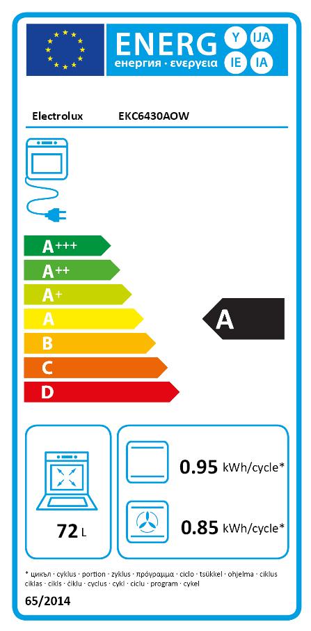 Electrolux EKC6430AOW