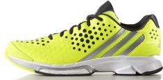 Adidas športni copati Volley Response Boost, mošku, rumeno/srebrni