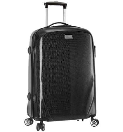 Sirocco Cestovní kufr T-924/3-70 PC černá