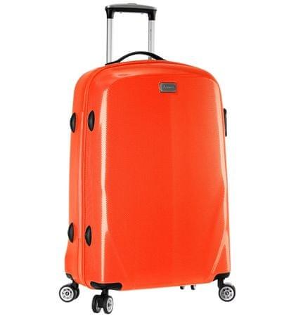 Sirocco Cestovný kufor T-924/3-70 PC oranžová
