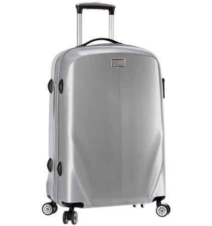 Sirocco Cestovní kufr T-924/3-70 PC stříbrná