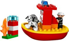 LEGO® DUPLO 10591 Hasičský čln