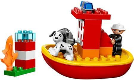 LEGO® Duplo 10591 Łódź Strażacka