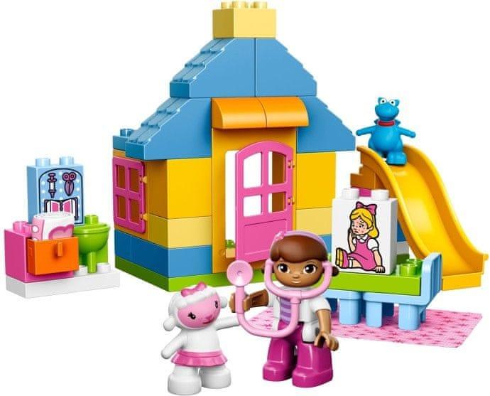 LEGO® DUPLO 10606 Doktorka Plyšáková: Ordinace na dvorku