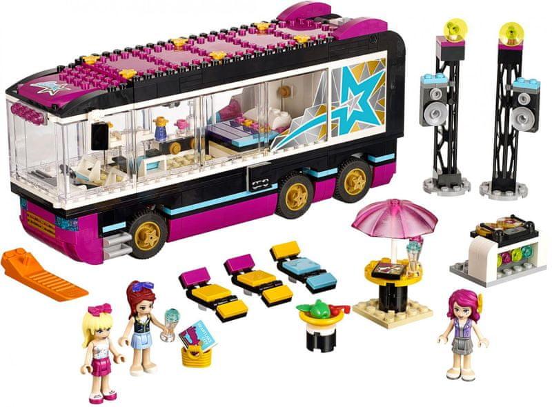 LEGO® Friends 41106 Autobus pro turné popových hvězd