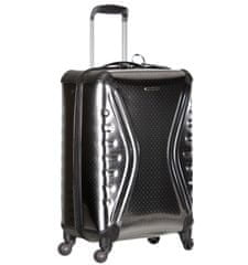 Sirocco Cestovní kufr T-1079/3-50 PET - metallic