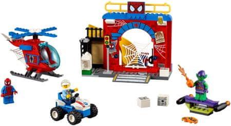 LEGO Juniors 10687 Spider-man skrivališče