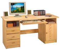 PC stůl P8847-I, masiv borovice