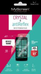 MyScreen Protector zaščitna folija Antireflex + Crystal za LG G4 H815, 2 kosa