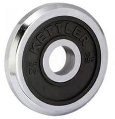 Kettler utež iz kroma in gume, 0,5 kg