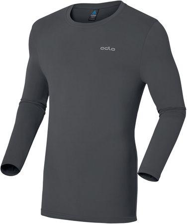 ODLO majica z dolgimi rokavi Sillian, moška, siva, XXL