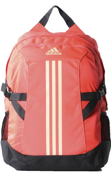 Adidas Power 2 Backpack (M) Flash Red S15/Chalk White/Dark Grey NS