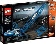 LEGO® Technic 42042 Żuraw gąsienicowy