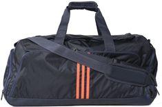 Adidas Performance 3 Stripes Teambag Midnight Grey/Flash Red M