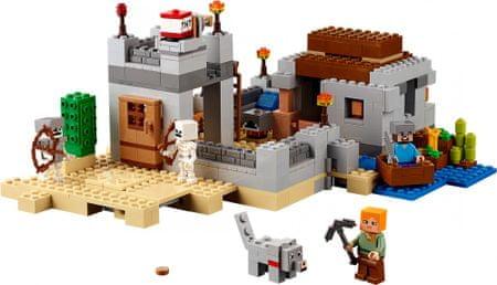 LEGO Minecraft 21121 Puščavska postojanka